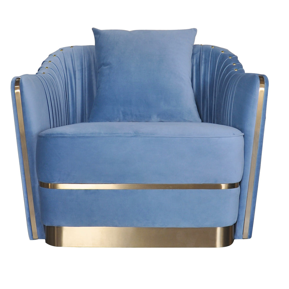 Stallone Chair Sky Blue