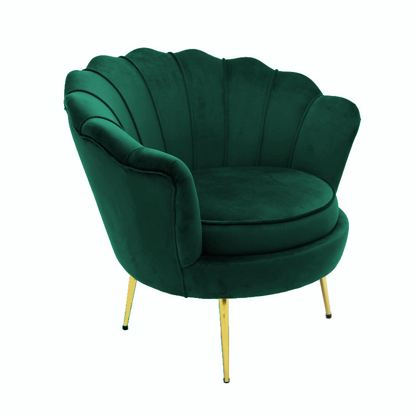 Load image into Gallery viewer, Murcia Chair Green Velvet