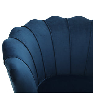 Murcia Chair Navy Velvet