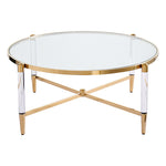 Floating Gold Coffee Table