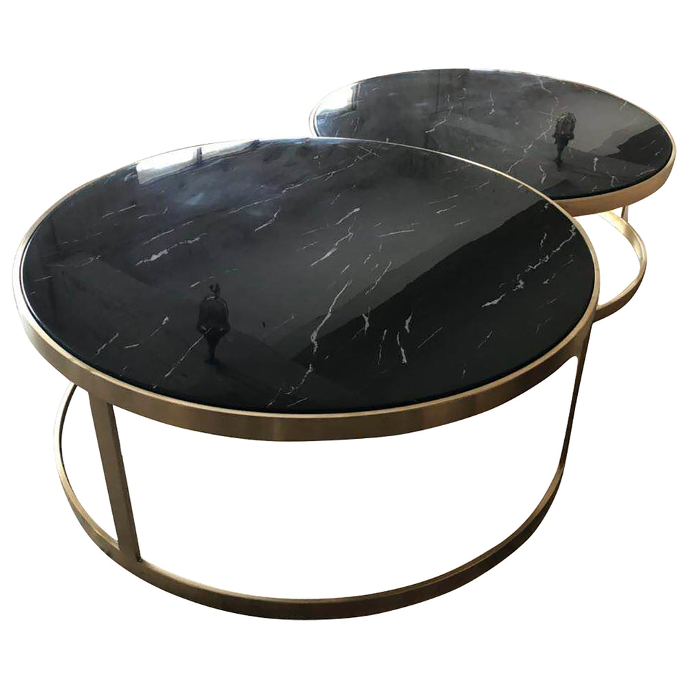 Splendour Coffee Table Set Black