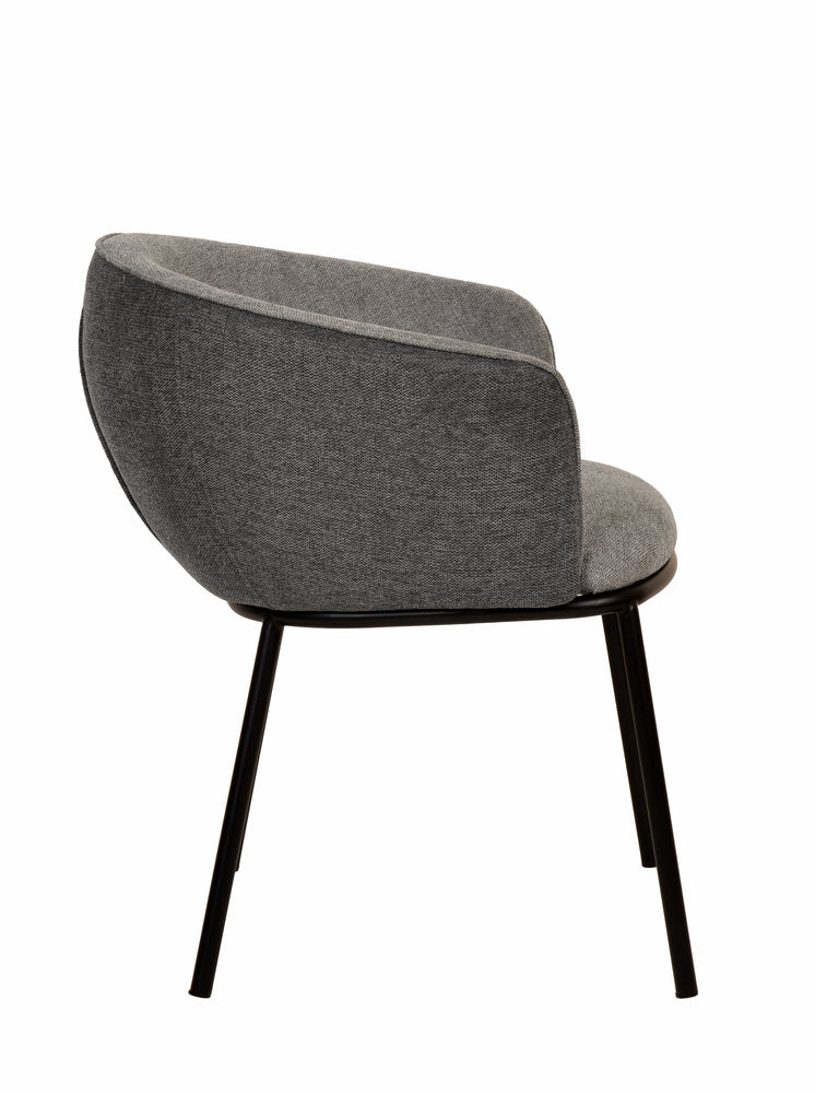 Load image into Gallery viewer, Zimmerman Dining Chair Grey Linen