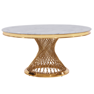 Load image into Gallery viewer, Dupont Round Dining Table