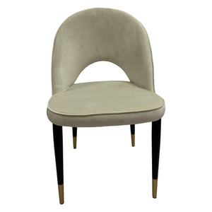 Bourdain Dining Chair Beige Velvet