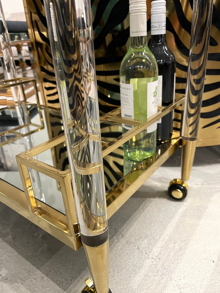 Umbria Gold Trolley
