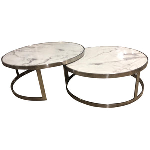 Sterling Coffee Table Set White
