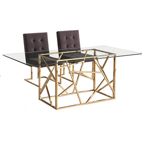Zig Zag Dining Table