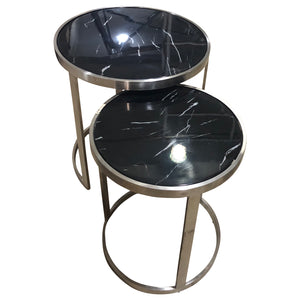 Sterling Side Table Set Black