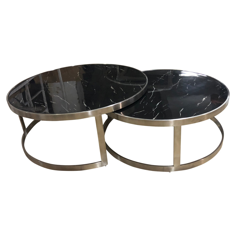 Sterling Coffee Table Set Black