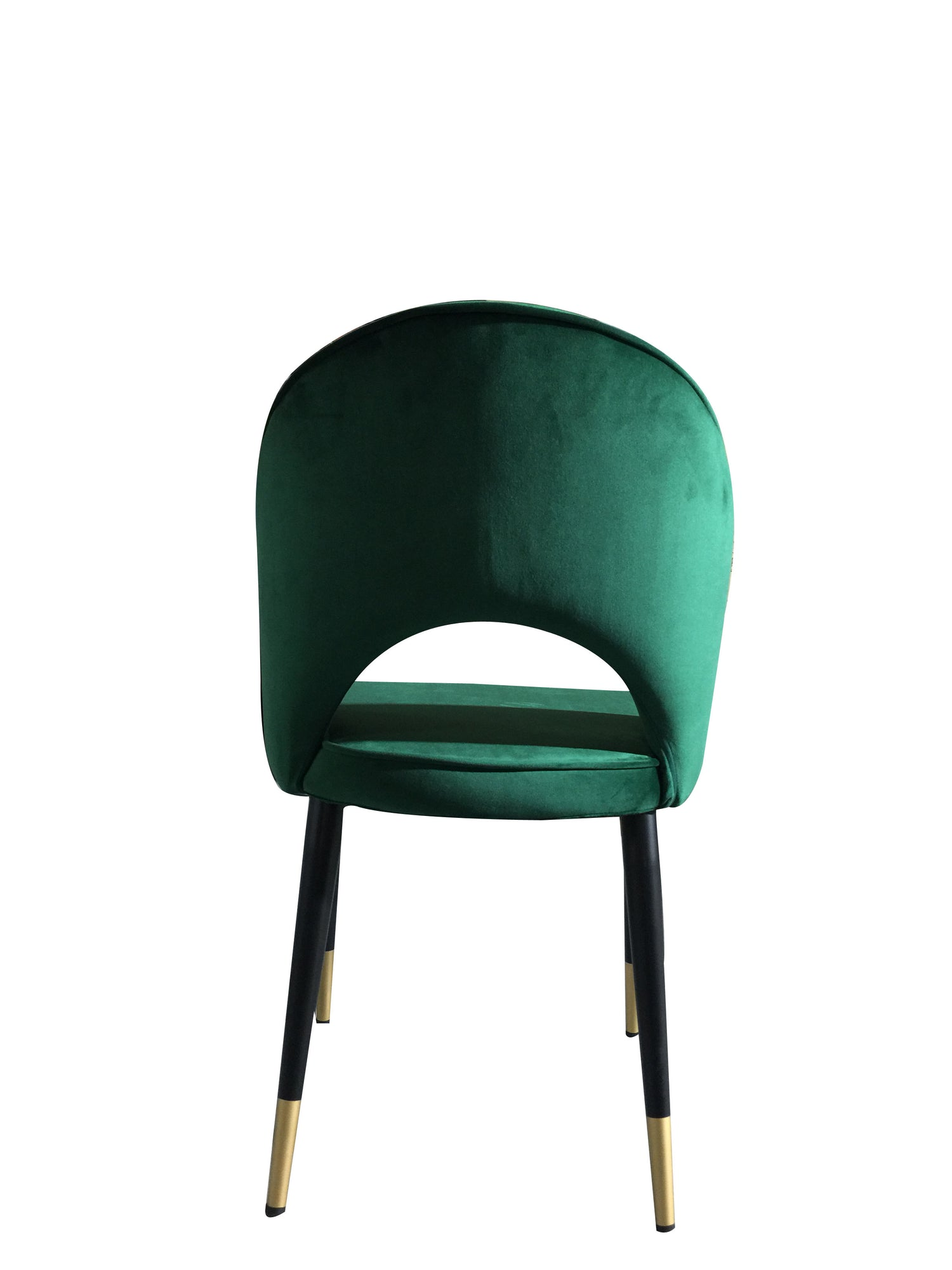 Bourdain Dining Chair Green Velvet