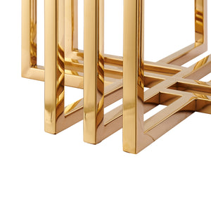 Catania Gold Side Table