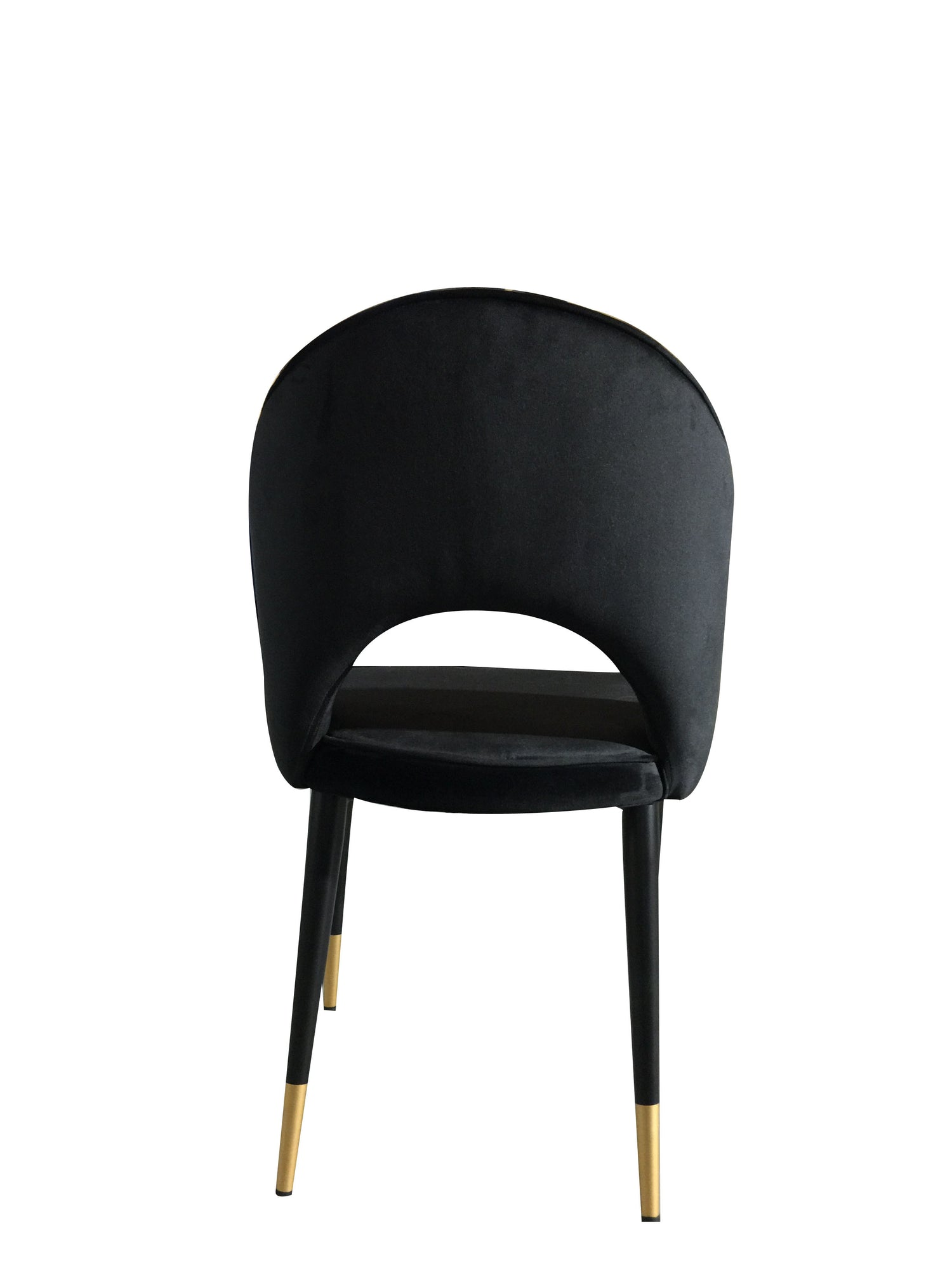 Bourdain Dining Chair Black Velvet Future Classics Furniture
