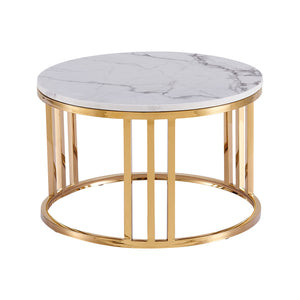 Lustre Coffee Table Set Gold
