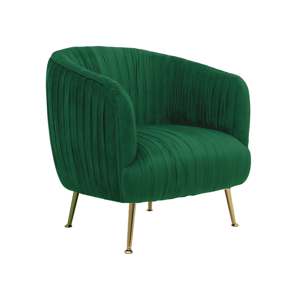 Navarra Chair Green Velvet