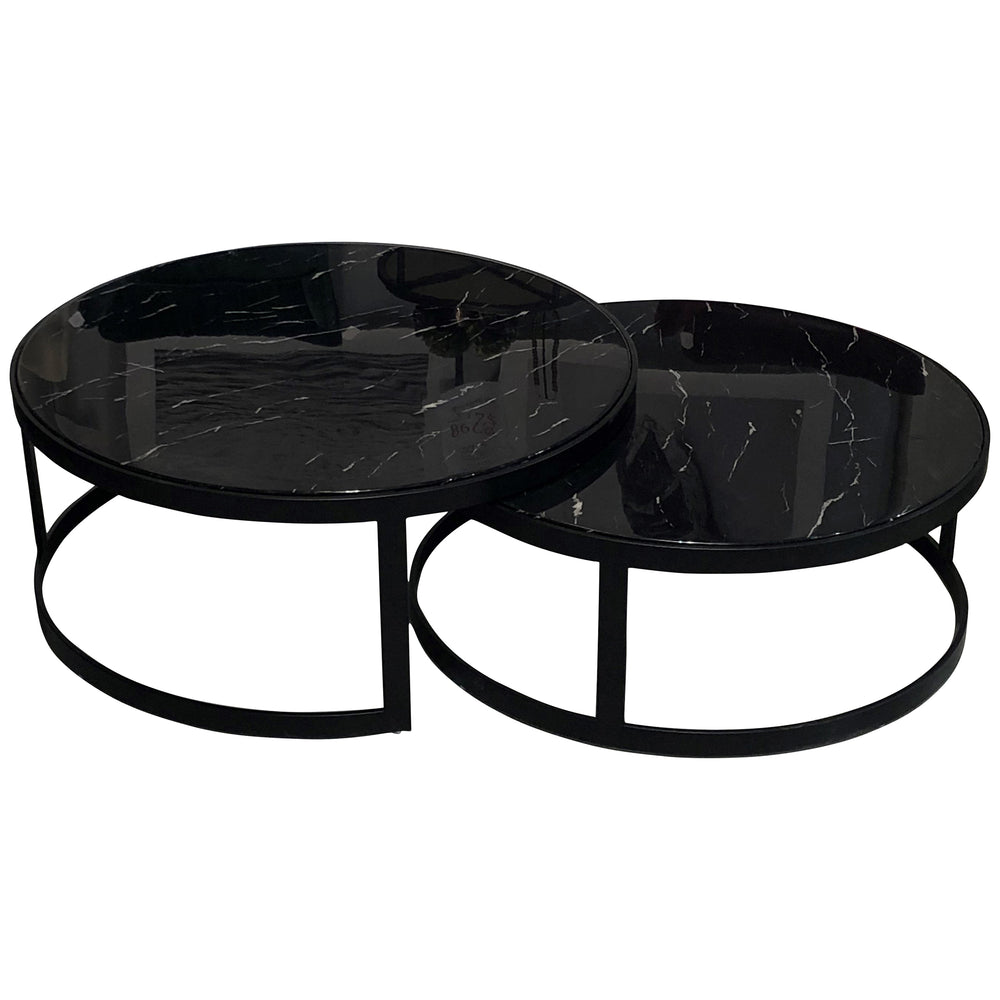 Glory Coffee Table Set Black