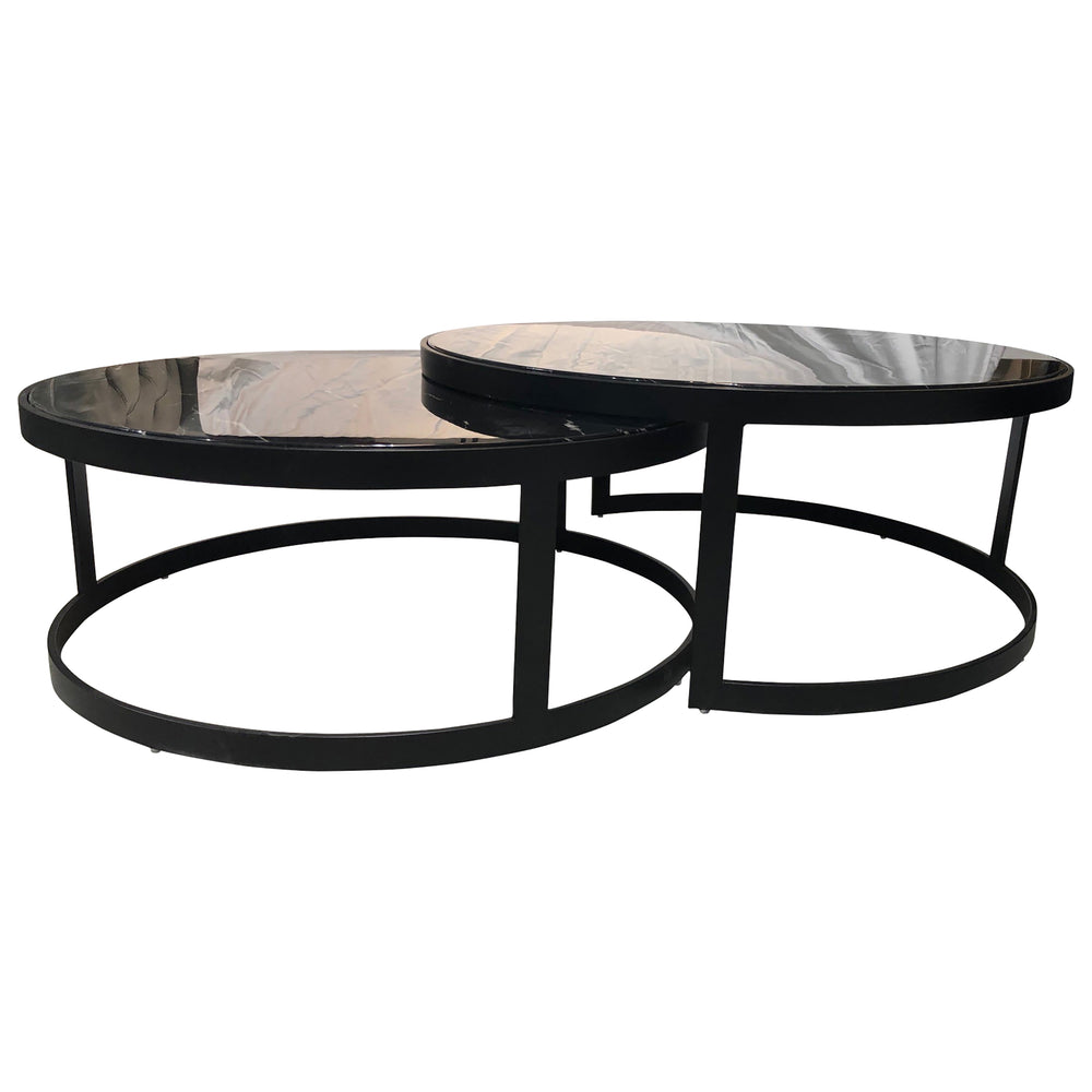 Load image into Gallery viewer, Glory Coffee Table Set Black