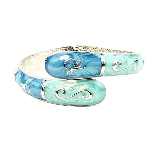 Bangle Hanger - Aqua & Teal - FUMI - www.pursehook.com