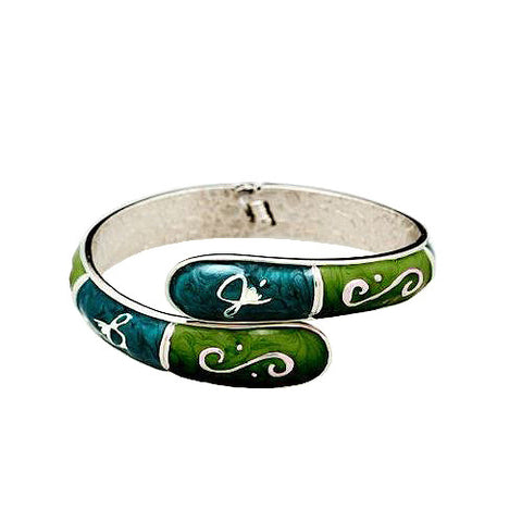 Bangle Hanger - Emerald & Aqua - FUMI - www.pursehook.com