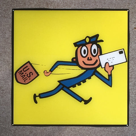 MR. ZIP Coaster Custom Ceramic Tile USPS
