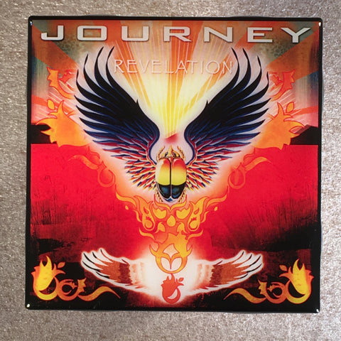 JOURNEY Revelation Coaster Record Cover Ceramic Tile - CoasterLily Tiles