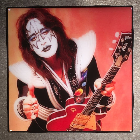 Ace Frehley Coaster KISS Custom Ceramic Tile - CoasterLily Tiles