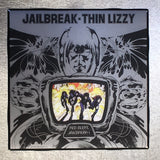 THIN LIZZY Jail Break Custom Ceramic Tile Coaster - CoasterLily Tiles