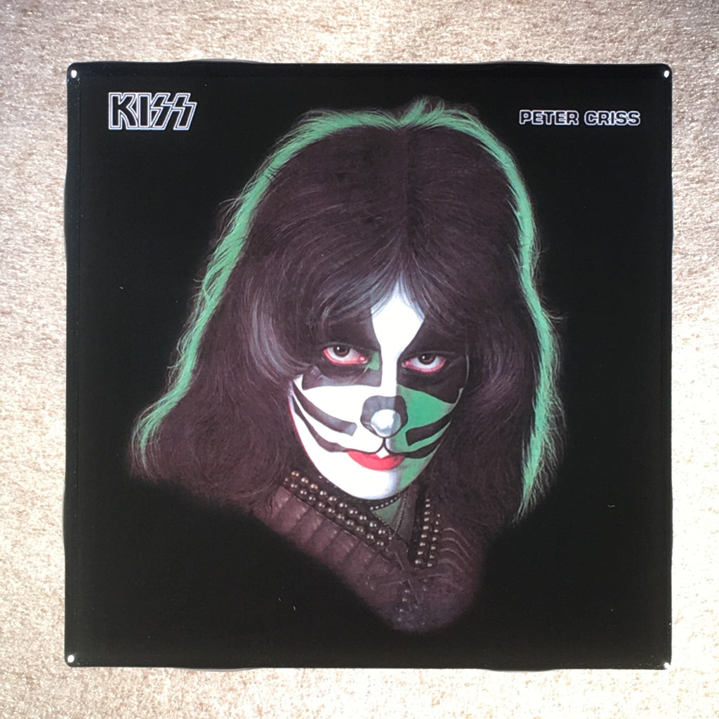 Peter Criss Solo Album Coaster Custom Ceramic Tile KISS - CoasterLily Tiles