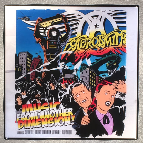 AEROSMITH Music From Another Dimension! Coaster Custom Ceramic Tile - CoasterLily Tiles