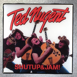 TED NUGENT Shut Up & Jam Coaster Custom Ceramic Tile - CoasterLily Tiles