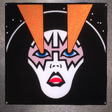 Ace Frehley KISS Rock And Roll Over Coaster Custom Ceramic Tile - CoasterLily Tiles