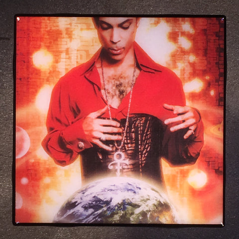 PRINCE Planet Earth Coaster Custom Ceramic Tile