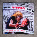 IRON MAIDEN Be Quick Or Be Dead Coaster Custom Ceramic Tile - CoasterLily Tiles