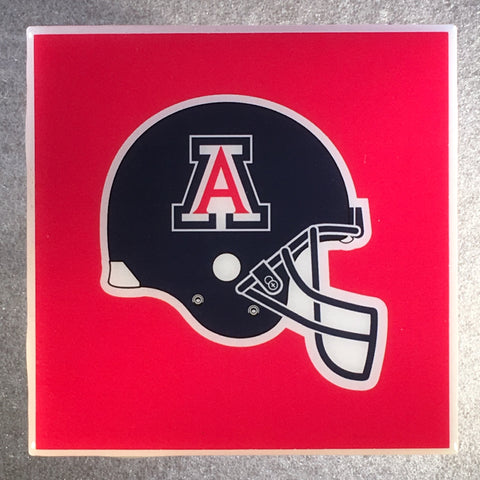 ARIZONA WILDCATS NCAA Ceramic Tile Coaster - CoasterLily Tiles