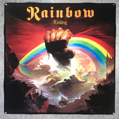 RAINBOW Rising Coaster Custom Ceramic Tile