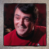 SCOTTY Coaster James Doohan Ceramic Tile Star Trek - CoasterLily Tiles