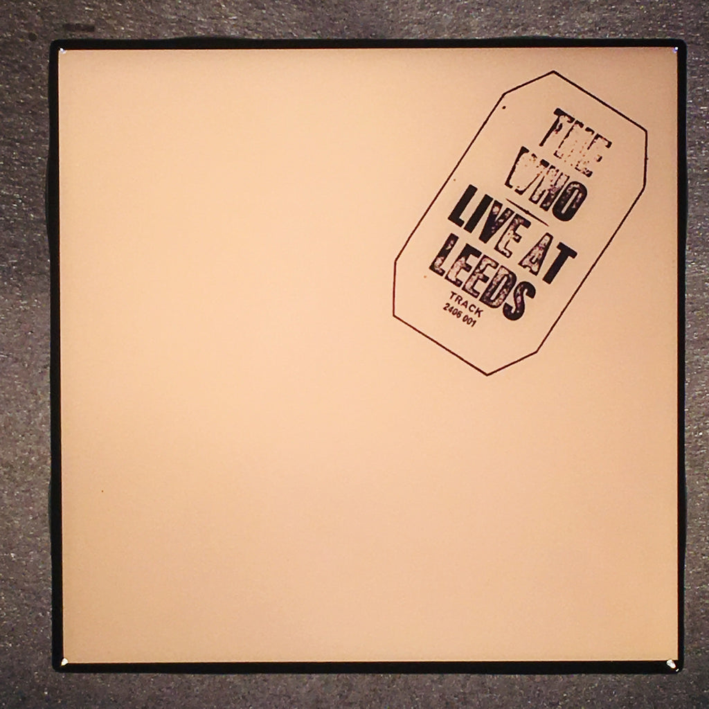 THE WHO Live At Leeds Coaster Custom Ceramic Tile - CoasterLily Tiles