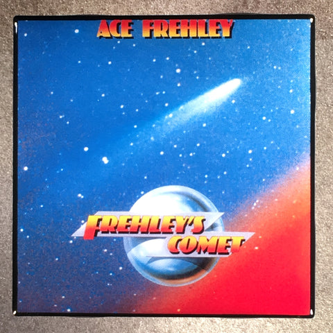 ACE FREHLEY Frehley's Comet Coaster KISS  Custom Ceramic Tile - CoasterLily Tiles