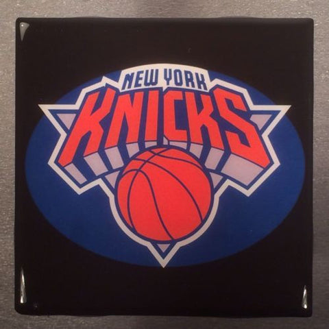 NEW YORK KNICKS NBA Ceramic Tile Coaster - Basketball Sports Team - CoasterLily Tiles