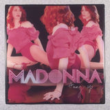 MADONNA Hung Up Record Cover Art Ceramic Tile Coaster - CoasterLily Tiles