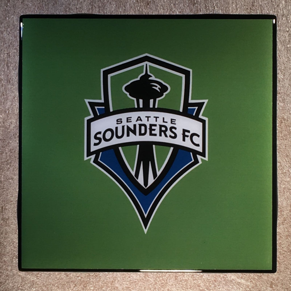 SEATTLE SOUNDERS FC Coaster Ceramic Tile Green