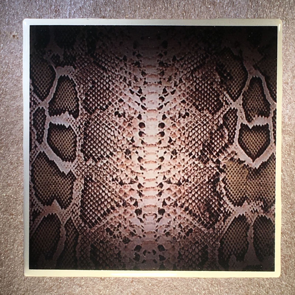 SNAKE SKIN Design Coaster Ceramic Tile - CoasterLily Tiles