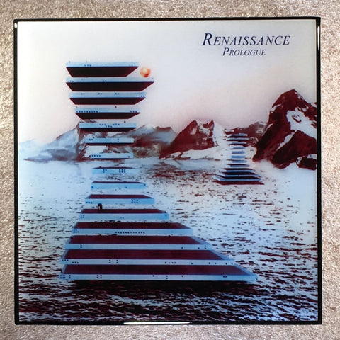 RENAISSANCE Prologue Coaster Record Cover Ceramic Tile - CoasterLily Tiles