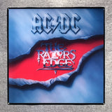 AC/DC Razor's Edge Coaster Record Cover Ceramic Tile - CoasterLily Tiles