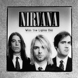 NIRVANA With The Lights Out Coaster Custom Ceramic Tile - CoasterLily Tiles