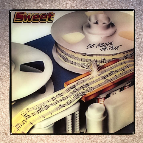 Sweet Cut Above The Rest Coaster Record Cover Ceramic Tile - CoasterLily Tiles