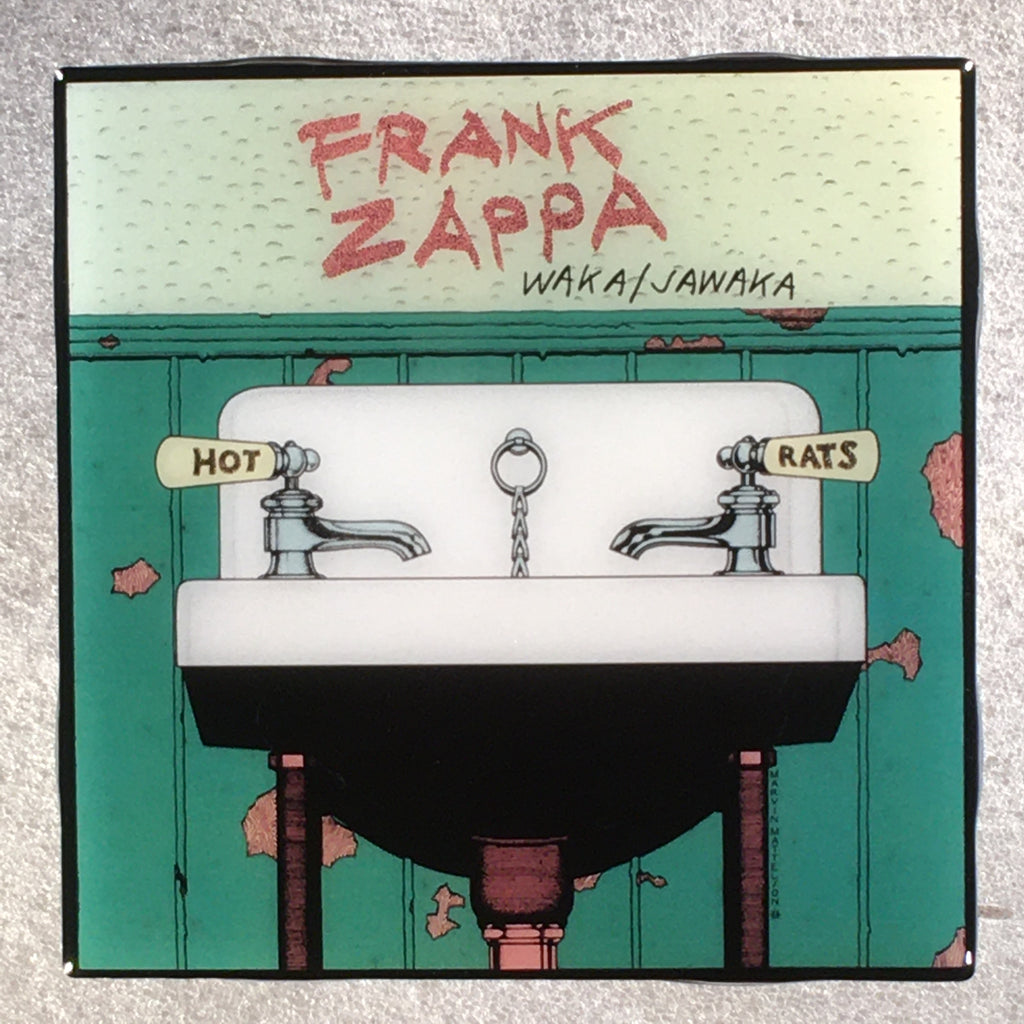 FRANK ZAPPA Waka/Jawaka Coaster Custom Ceramic Tile - CoasterLily Tiles