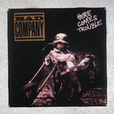 BAD COMPANY Here Comes Trouble Coaster Custom Ceramic Tile - CoasterLily Tiles