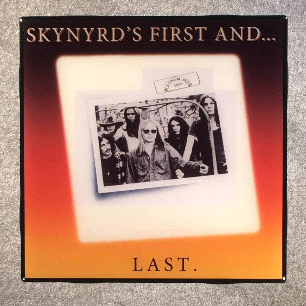 LYNYRD SKYNYRD'S First And Last Coaster Custom Ceramic Tile - CoasterLily Tiles