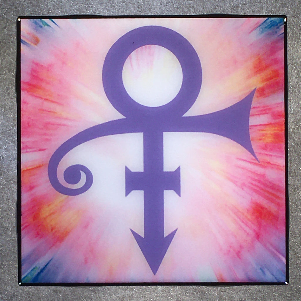 PRINCE Love Symbol Coaster Tile Beautiful Experience