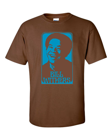BILL WITHERS T-Shirt New - Lean On Me, Ain't No Sunshine S-XXL - CoasterLily Tiles